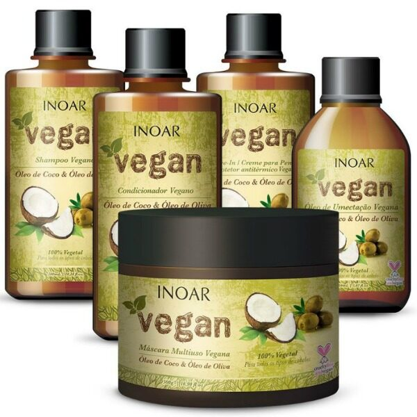 Inoar Vegan Kit 5 delig