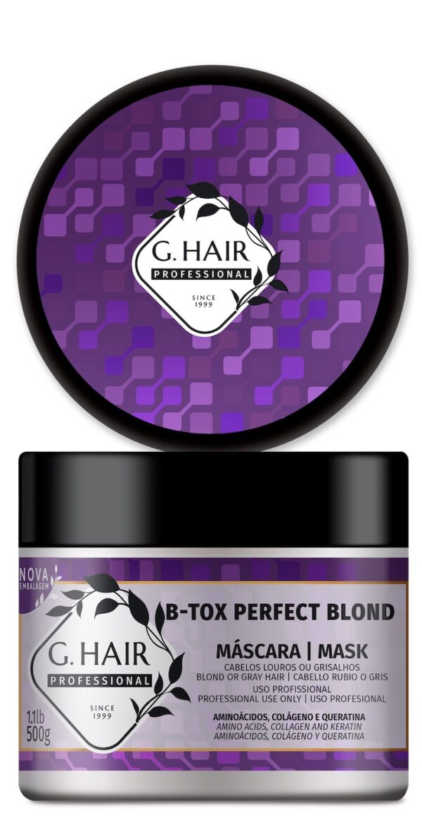 B-Tox Perfect Blond 500