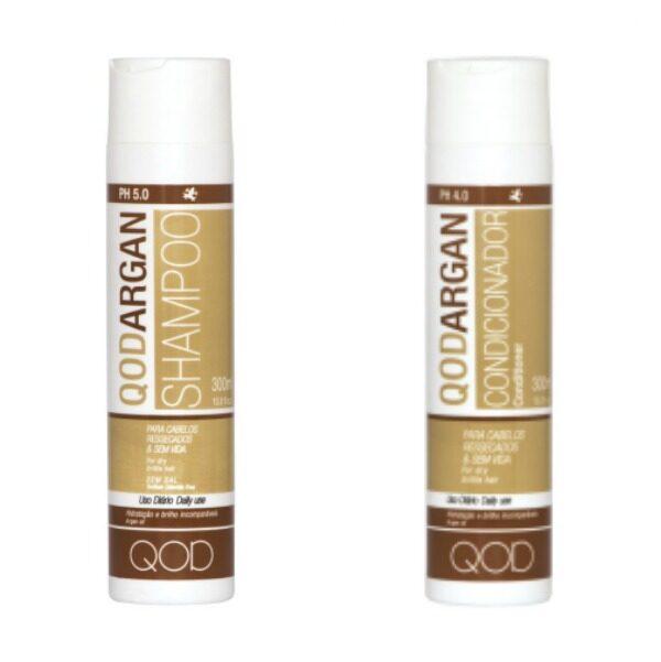 Qod Argan shampoo&conditioner