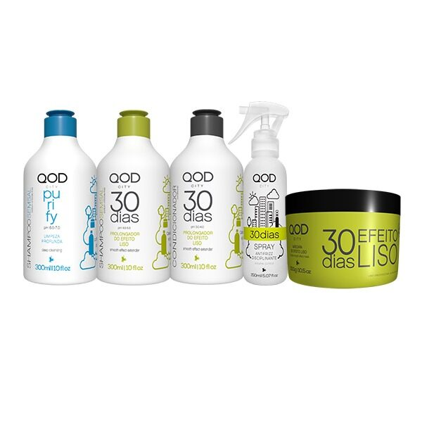 Qod 30 days kit 5 delig