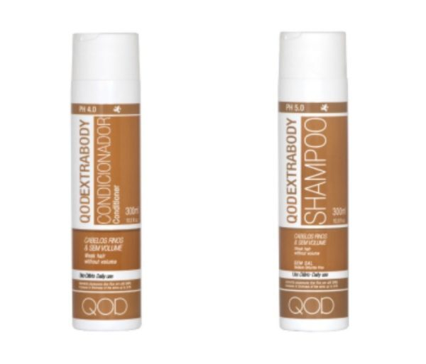 Qod extra body shampoo&conditioner