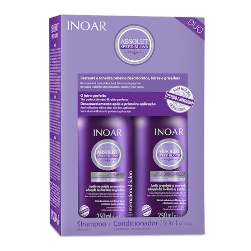 Inoar speed Blond Zilver Due kit